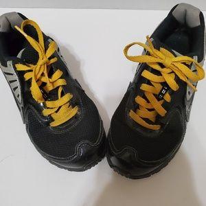 Nike Shocks Black/Gray Kids Sneakers